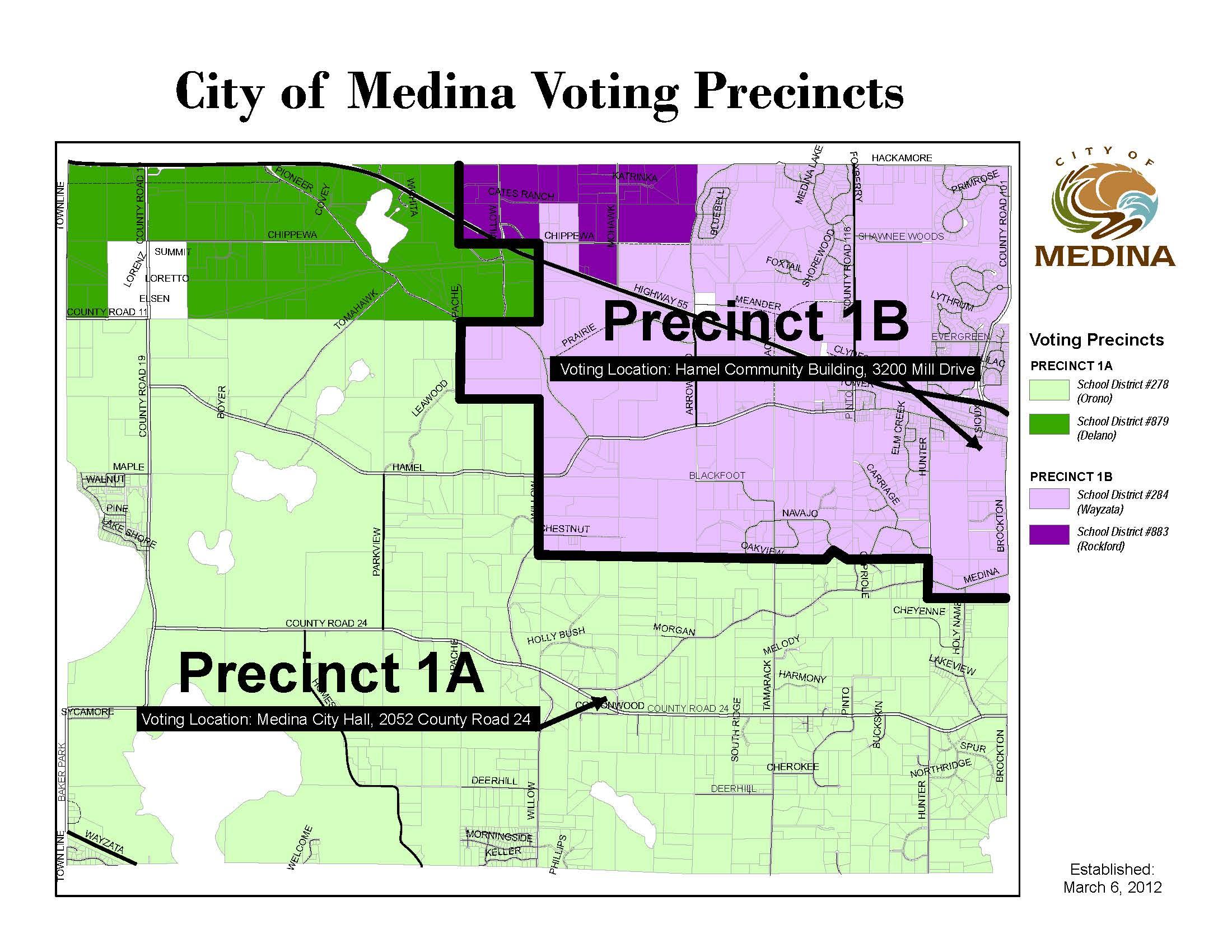 Medina Voting Precincts 3 6 2012