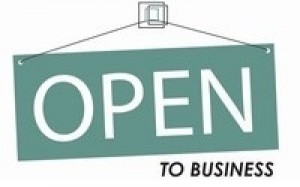 Open to Business Image 400 x 250